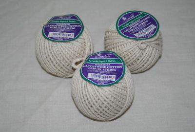 Lastotwine Cotton Parcel String x 3