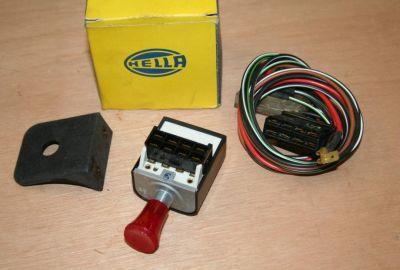 Hella Hazard Warning Switch Kit 24v 11/22-2