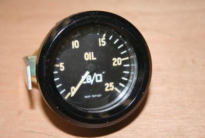 Smiths Oil Pressure Gauge Capillary Type 0-25Lbs