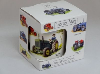 Fine China 6 models Classic Tractor Collage Mug Gift Boxed