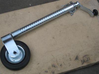 Trailer jockey wheel heavy duty ribbed