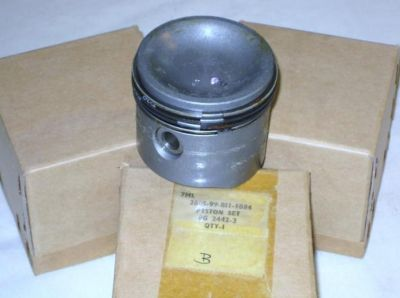 Morris Piston Set Complete with Rings 8G 2442-3