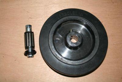 Bradley Trailer Jockey Wheel 200/50-140