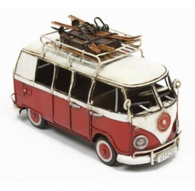 Handcrafted Tin Plate Volkswagen Camper Van
