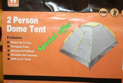 Base Camp 2 Person dome camping tent