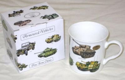 Leonardo Fine China WW2 Armoured Vehicle Mug