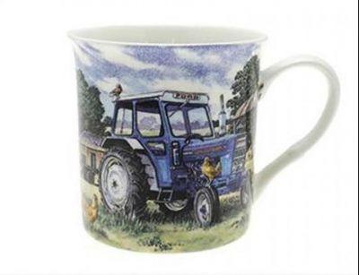 Fine Art mug Ford 4000 Tractor on the farm