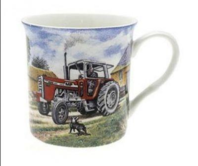 Fine Art Fine China Mug Massey Ferguson 595 Tractor
