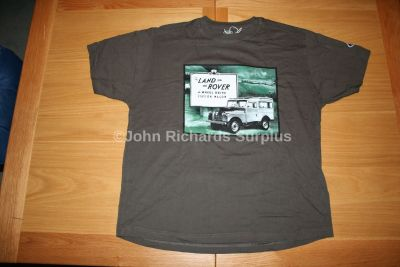 Official Land Rover Series 1 T-Shirt in a tin Black-GreenS