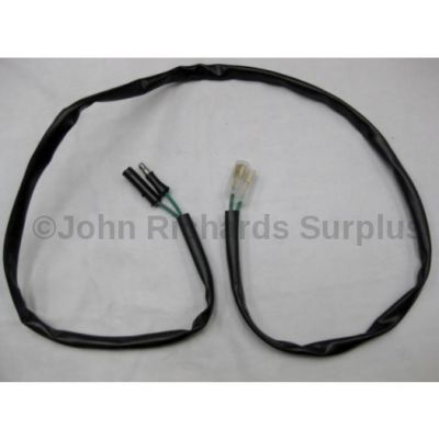 Land Rover number plate lamp harness PRC2032