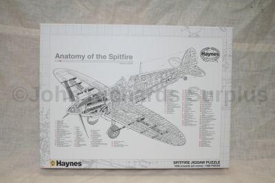 1000 piece Anatomy of a World War 2 Spitfire jigsaw puzzle