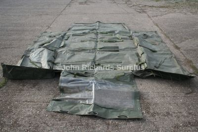 Land Rover TUM ECM Wolf 110 Full Hood RRC8710 Green Used