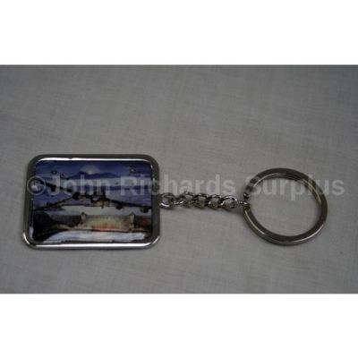 Die Cast Lancaster Bomber Dambusters Commemorative Key Ring Collectable