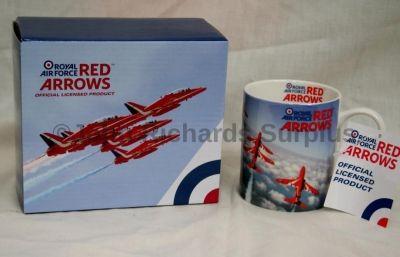 RAF Red Arrows Fine Bone China Mug in Presentation Box