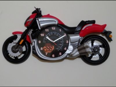 Yamaha V-Max Luxury Motorcycle wall clock Red