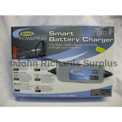 Ring 12 Volt 2-4 Amp Smart Battery Charger RSC-4