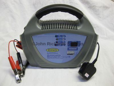 Ring Automatic 8 Amp 12 Volt Battery Charger RCB208