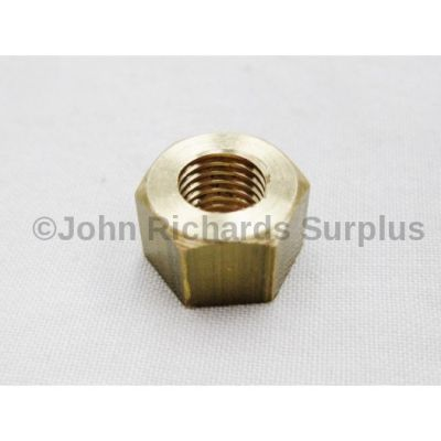 Brass Exhaust Manifold Nut 5/16 UNF RTC3629