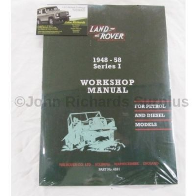 Series 1 Workshop Manual RTC9839