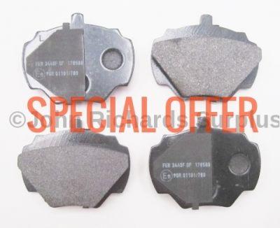 Brake Pad Set Rear SFP500190