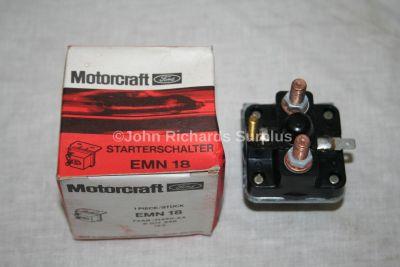 Motorcraft Boxed Lucas Starter Solenoid EMN18 SRB333
