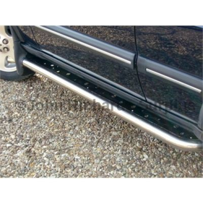 Discovery 2 Side Step Pair With Mudflaps P.O.A STC50032
