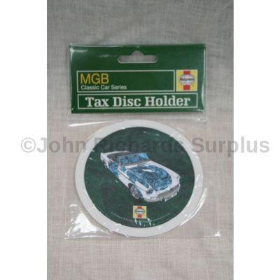 Haynes MGB Tax Disc Holder