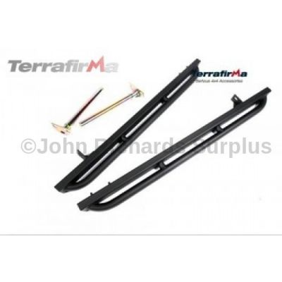 Defender 90 Rock Sliders with Tree Bars P.O.A TF801
