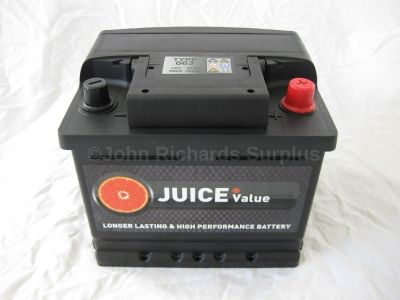Juice 12V 43AH Car Battery Type 063 (Collect Only)