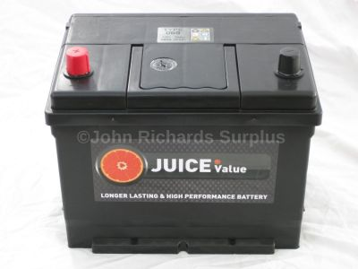 Juice 12V 68AH Car Battery Type 069 (Collect Only)