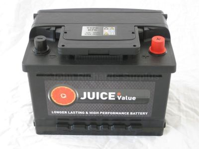 Juice 12V 60AH Car Battery Type 075 (Collect Only)