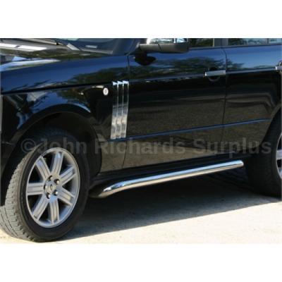 Range Rover L322 Side Protection Tube Pair P.O.A VUB001230