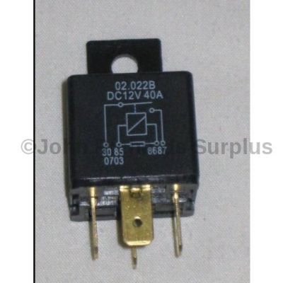 Land Rover 12 volt 4 pin yellow relay YWB10027L