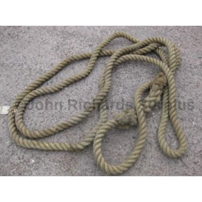 Heavy duty hessian rope continuous loop 30 foot